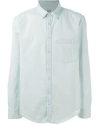 Camisa vaquera celeste de MSGM