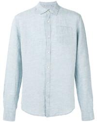 Camisa vaquera celeste de Woolrich