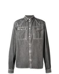 Camisa vaquera gris de Diesel Black Gold