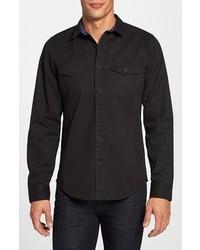 Camisa vaquera negra