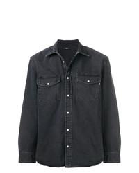 Camisa vaquera negra de Diesel