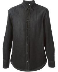 Camisa vaquera negra de Dondup