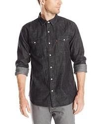 Camisa vaquera negra de Levi's