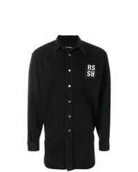Camisa Vaquera Negra de Raf Simons