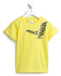 Camiseta amarilla de Armani Junior
