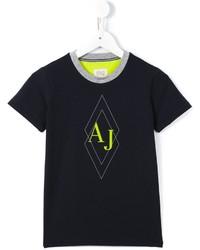 Camiseta azul marino de Armani Junior