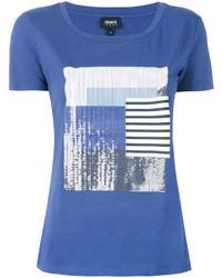 Camiseta Azul de Armani Jeans