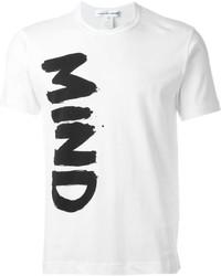 Camiseta blanca de Comme des Garcons