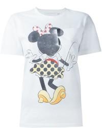 Camiseta blanca de Victoria Beckham