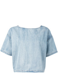 Camiseta celeste de Diesel