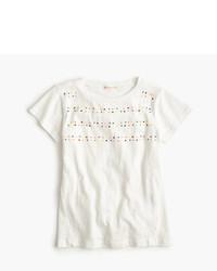 Camiseta con adornos