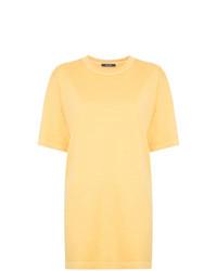 Camiseta con cuello circular amarilla de Jac+ Jack