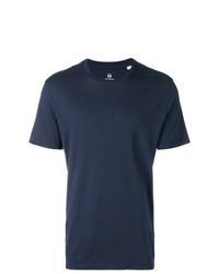 Camiseta con cuello circular azul marino de AG Jeans