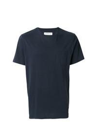 Camiseta con cuello circular azul marino de Department 5