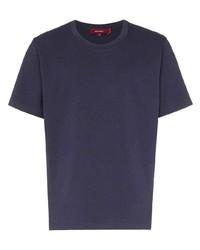 Camiseta con cuello circular azul marino de Sies Marjan