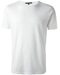 Camiseta con cuello circular blanca de Gucci