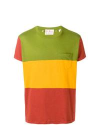 Camiseta con cuello circular de rayas horizontales en multicolor de Levi's Vintage Clothing