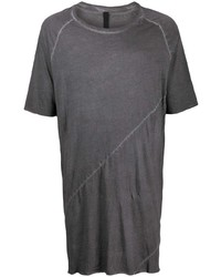 Camiseta con cuello circular en gris oscuro de Army Of Me