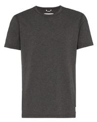 Camiseta con cuello circular en gris oscuro de Reigning Champ