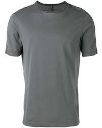 Camiseta con cuello circular en gris oscuro de Transit
