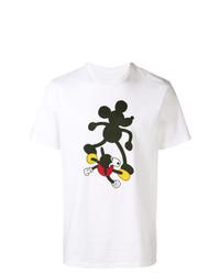 Camiseta con cuello circular estampada blanca de Vans