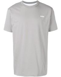Camiseta con cuello circular gris de 032c