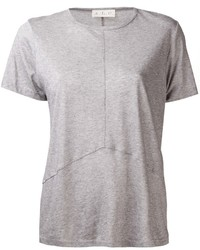 Camiseta con cuello circular gris de A.L.C.