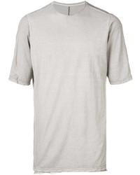 Camiseta con cuello circular gris de Devoa