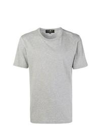 Camiseta con cuello circular gris de Hydrogen