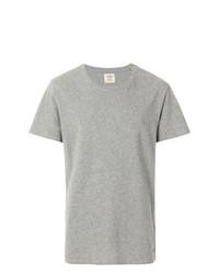 Camiseta con cuello circular gris de Kent & Curwen