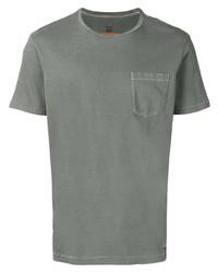 Camiseta con cuello circular gris de Parajumpers