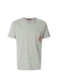 Camiseta con cuello circular gris de Perfect Moment