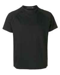 Camiseta con cuello circular negra de Mackintosh 0004