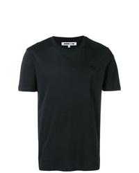 Camiseta con cuello circular negra de McQ Alexander McQueen