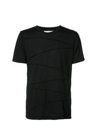 Camiseta con cuello circular negra de Private Stock