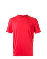 Camiseta con cuello circular roja de Lygia & Nanny