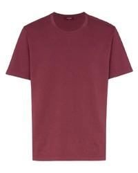 Camiseta con cuello circular roja de Sies Marjan