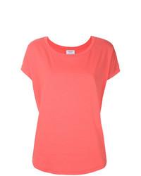 Camiseta con cuello circular rosada de Snobby Sheep