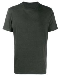 Camiseta con cuello circular verde oscuro de Bellerose