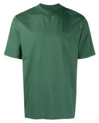 Camiseta con cuello circular verde de Études