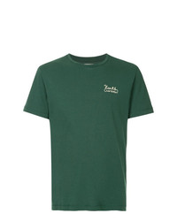 Camiseta con cuello circular verde de Kent & Curwen
