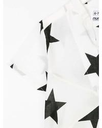 Camiseta de Estrellas Blanca de Nununu