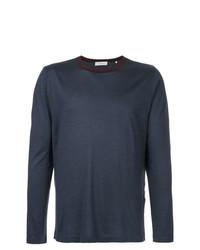 Camiseta de manga larga azul marino de Cerruti 1881