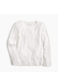 Camiseta de manga larga blanca