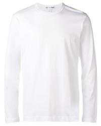 Camiseta de manga larga blanca de Comme Des Garcons SHIRT