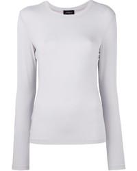 Camiseta de manga larga blanca de Les Copains
