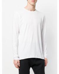 ... Camiseta de manga larga blanca de Thom Krom ... e4cdfc083ac83