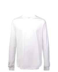 Camiseta de manga larga blanca de Nike