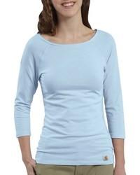 Camiseta de manga larga celeste original 2880015