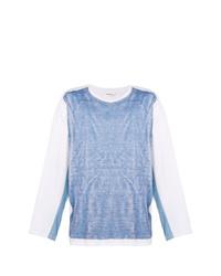 Camiseta de manga larga celeste de Digawel